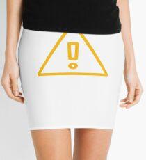 WARNING GAMING ENTHUSIAST Mini Skirt