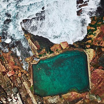 Mahon Saltwater Pool in Maroubra Sydney  by The-Drone-Man