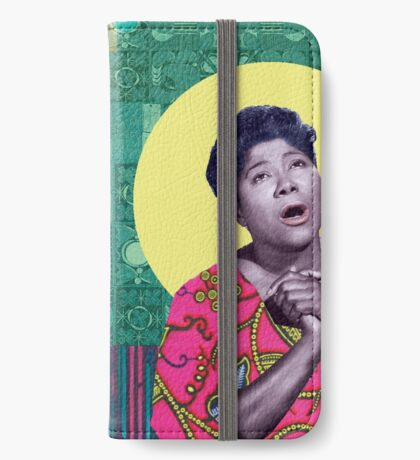THE QUEEN OF GOSPEL iPhone Wallet