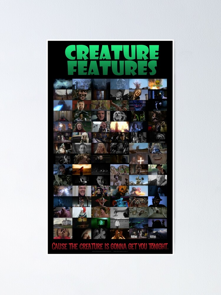 Alternate view of Creature Features Opening Theme Poster Poster
