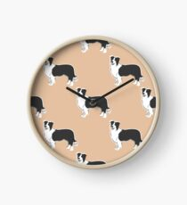 Just A Border Collie Clock