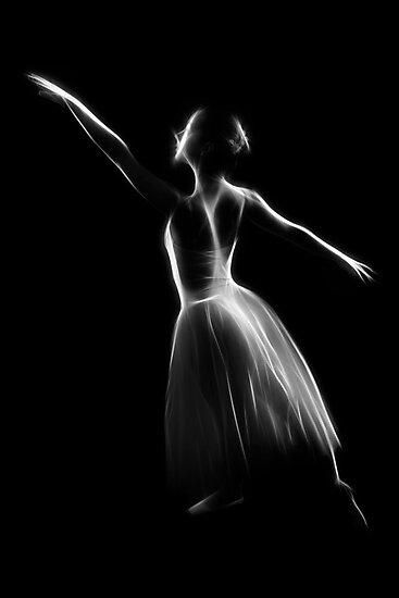 Ballet Pose by Peter Wickham