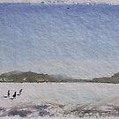 Utah Salt Flats I by vikingsbooksetc