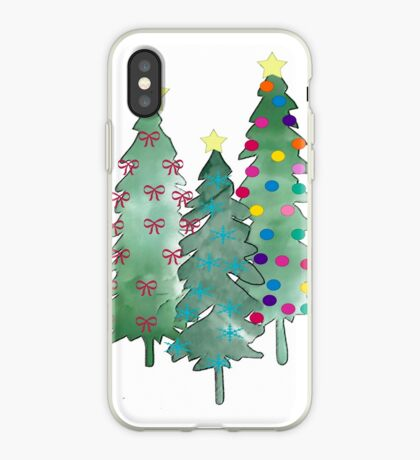 Christmas Trees 2018 iPhone Case