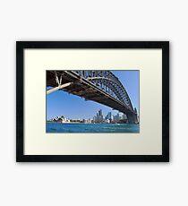 Icons of Sydney Framed Print