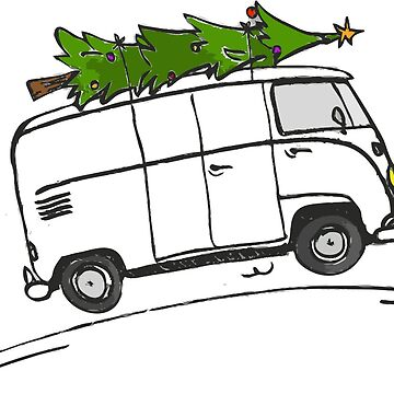 ROAM Christmas Splitty by jpburdett