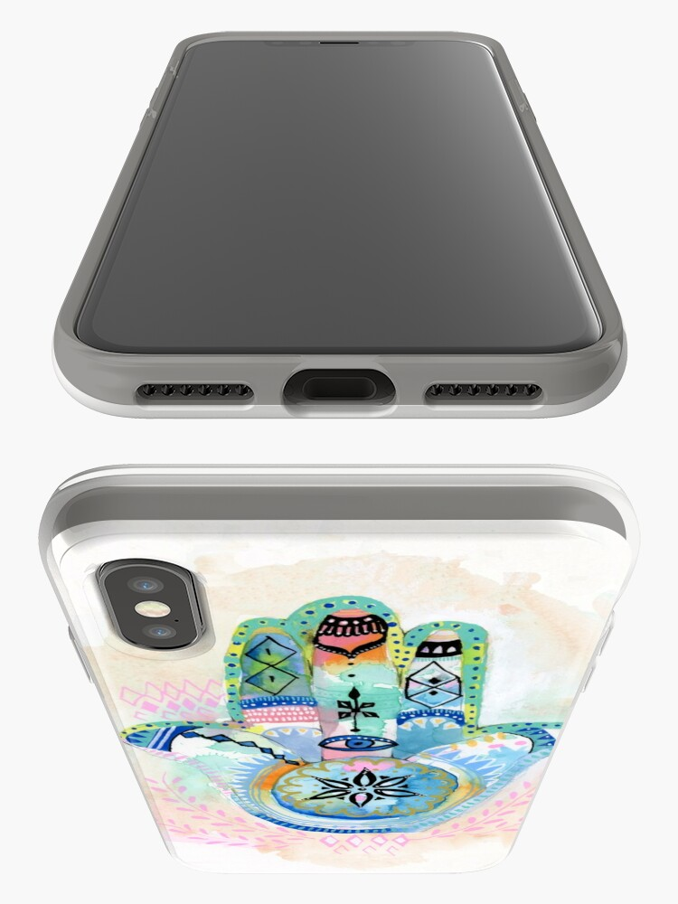 Alternate view of Morocco Hamsa Hand iPhone Cases & Covers