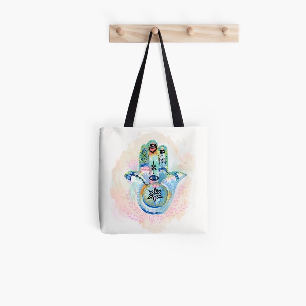 Morocco Hamsa Hand Tote Bag