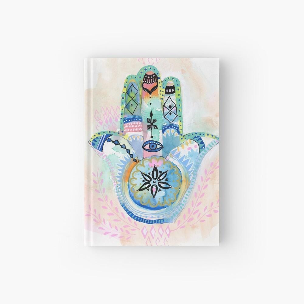 Morocco Hamsa Hand Hardcover Journal