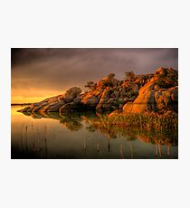 Willow Rock Photographic Print