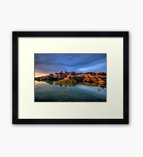 willow rock 2 Framed Print