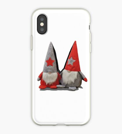 3D Christmas Gnomes iPhone Case