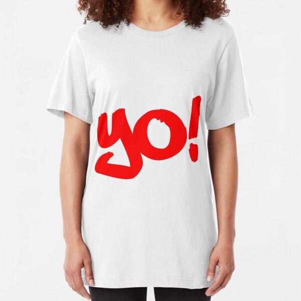 Yo! - Philly Greeting Slim Fit T-Shirt