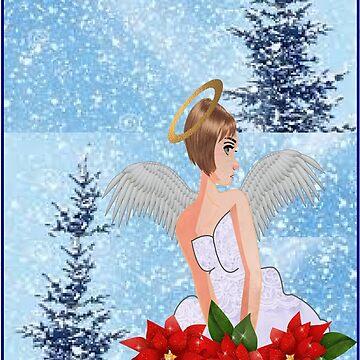 Angel  by aldona
