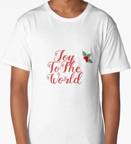 Joy to The World Long T-Shirt