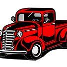 1940 Custom Chevy Pickup by WadZat