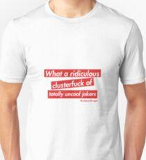 We love Barbara Kruger!!   Unisex T-Shirt