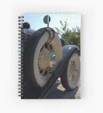 Spare Tyre Spiral Notebook