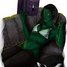 She-Hulk Smash The Books by VladtheDragon