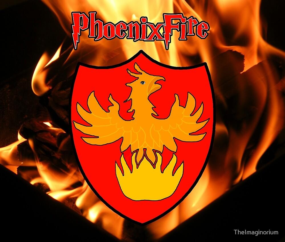 Phoenixfire house mascot by TheImaginorium