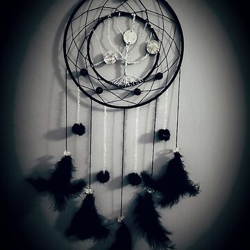 Catch dream tree of life handmade by GreyCreatures
