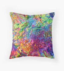 This Page Intentionally Left Blank - Digital Art & Painting Throw Pillow