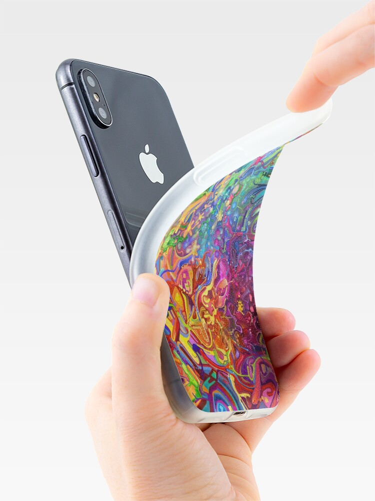 Alternate view of This Page Intentionally Left Blank - Digital Art & Painting iPhone Case & Cover