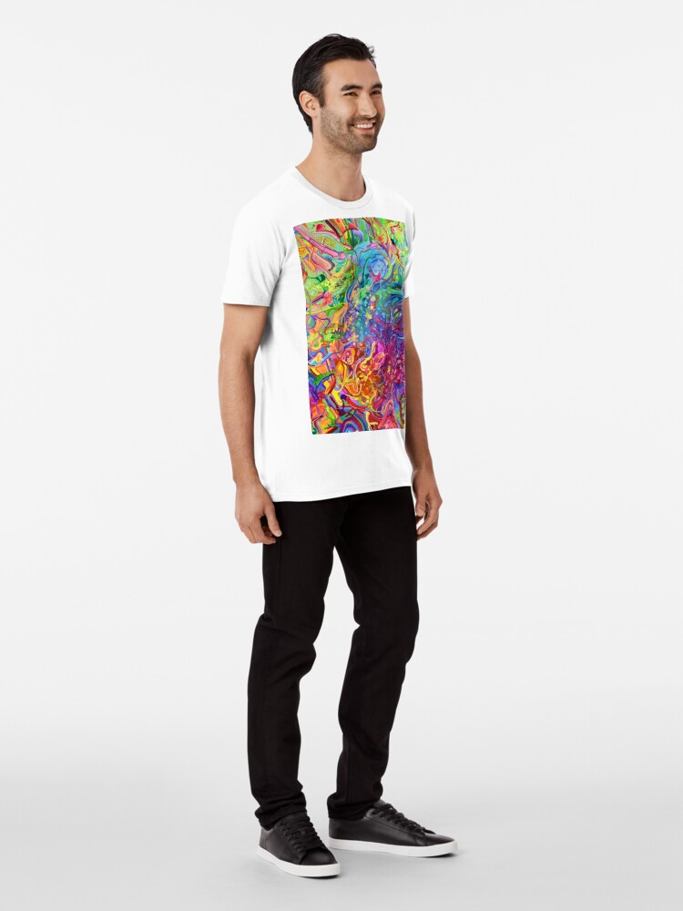 Alternate view of This Page Intentionally Left Blank - Digital Art & Painting Premium T-Shirt