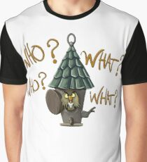Who Who What What Archimedes Graphic T-Shirt