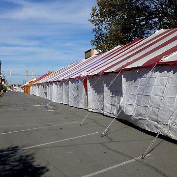 The Long Long Tent by WildestArt