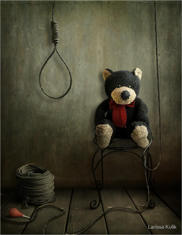 Fear Bear by Larissa Kulik
