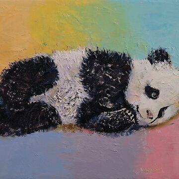 Baby Panda Rainbow by michaelcreese
