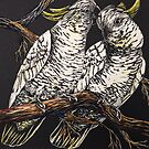 Cockatoo Couple by Karen  Neal
