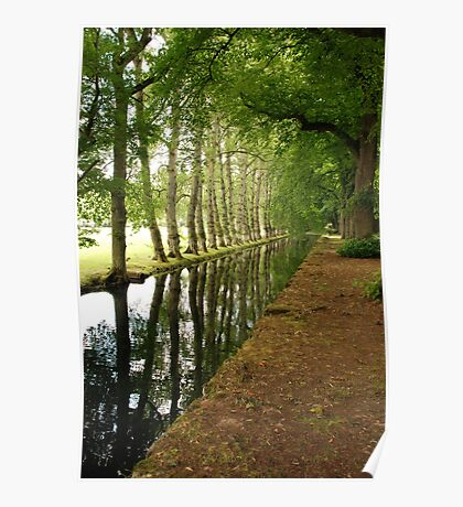 On the Way to Chenonceau Poster