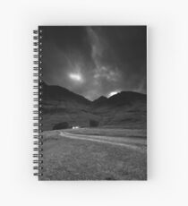 Twin cottages Spiral Notebook
