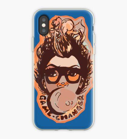Kaugummi hübsches Mädchen Afro Haar Mohawk iPhone-Hülle & Cover
