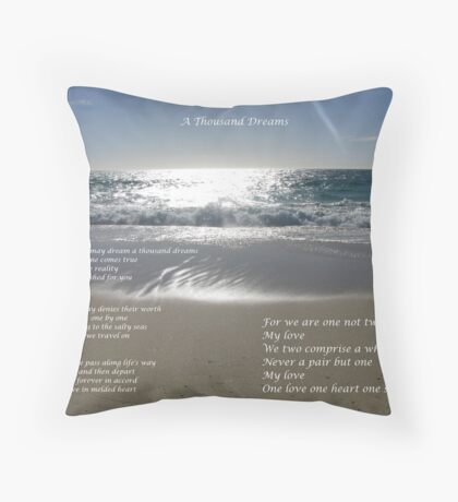 A Thousand Dreams Throw Pillow