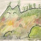 cat mountain by Yael Kisel