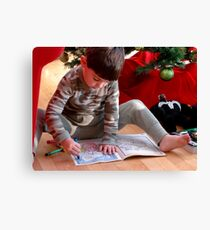 A picture for Santa! Canvas Print