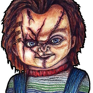 Chucky by spookylydia