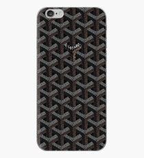 Schwarzer Goyard iPhone-Hülle & Cover