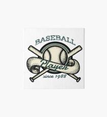 Vintage baseball Art Board