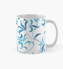blue vine Classic Mug
