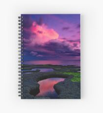 """Evening Tempest"" Spiral Notebook"
