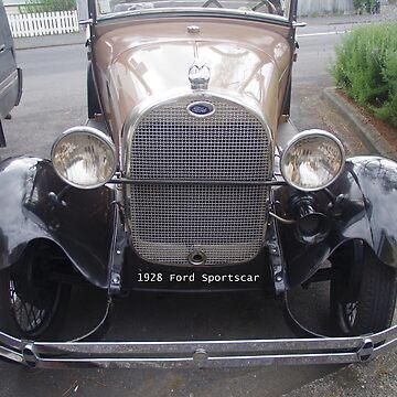 1928 Vintage Sports Car by lezvee