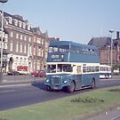 Classic Blue Double Decker Bus by The Transport Lens
