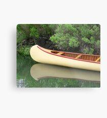 Kodachrome Canoe Metal Print