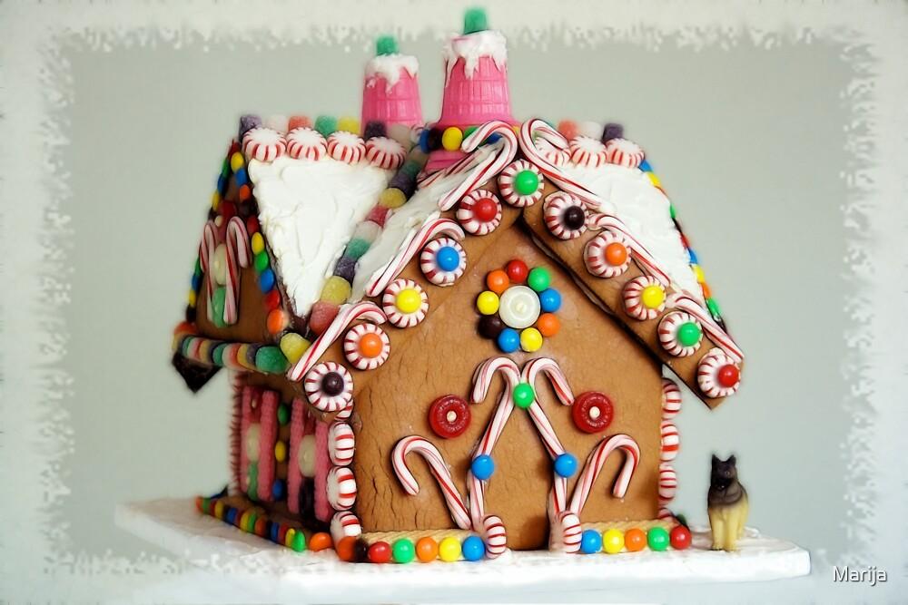 Gingerbread House by Marija