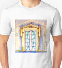 Empire door. design by Tereza Del Pilar Unisex T-Shirt