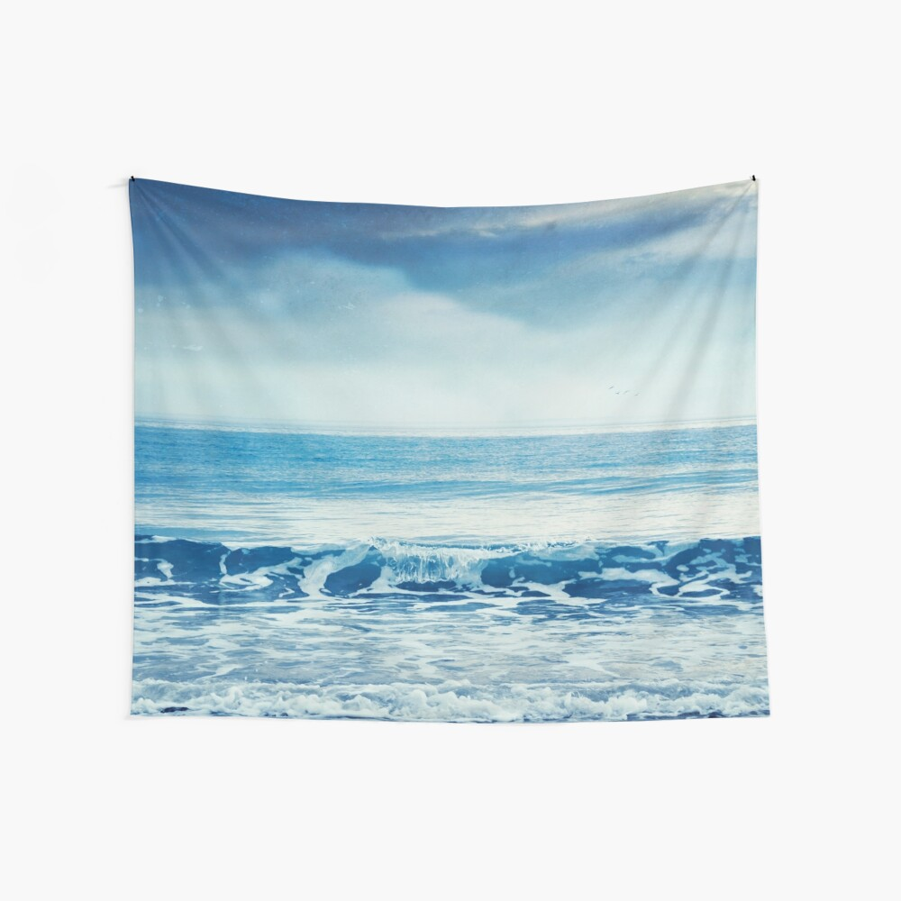 Soothing Sea Wall Tapestry